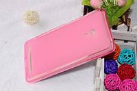 Чохол накладка для Asus Zenfone 6 рожевий, фото 1