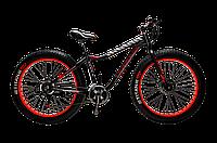 "Велосипед 26"" Titan Crossover FT Black Red"
