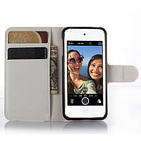 Чехол-книжка Litchie Wallet для Apple iPod Touch 5 / iPod Touch 6 Белый