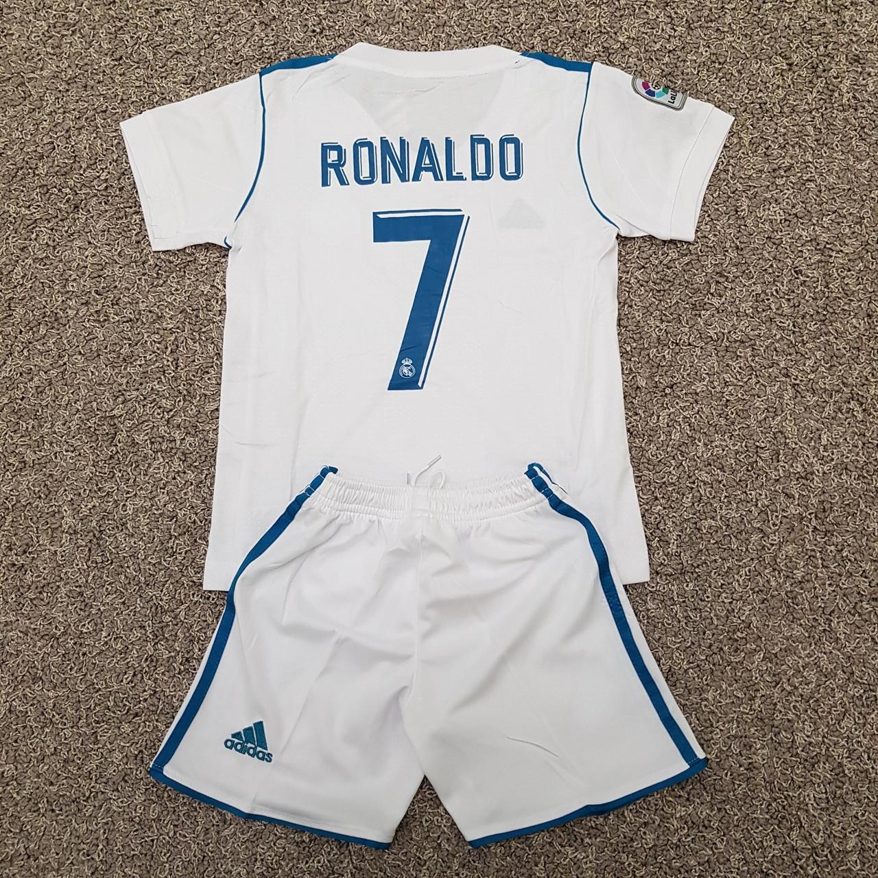 Футбольная форма ФК Реал Мадрид Домашняя РОНАЛДО 17/18  (распродажа)