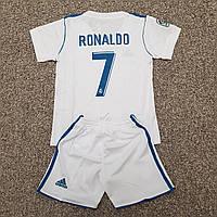 Футбольная форма ФК Реал Мадрид Домашняя РОНАЛДО 17/18  (распродажа), фото 1
