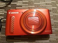 Фотоаппарат Canon SX610 HS Red в идеальном состоянии