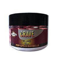 Бойлы Dynamite Baits The Crave Pink Fluro Pop-Ups 15mm 100g