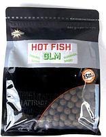 Бойлы тонущие Dynamite Baits Hot Fish & GLM 15mm 1kg