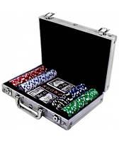 Покерный набор в кейсе 200