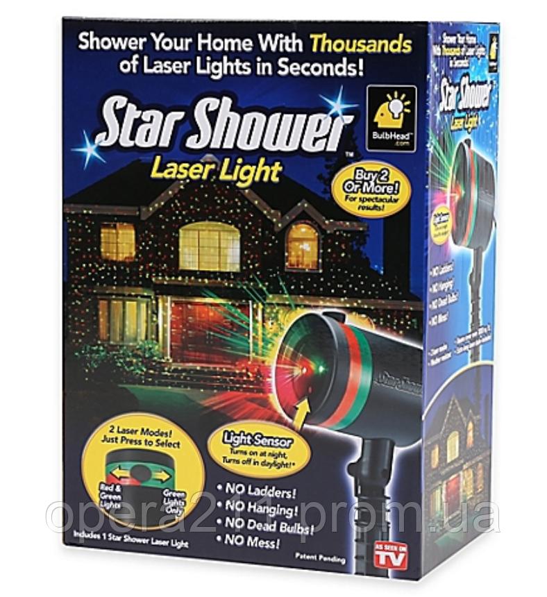 Лазерный проэктор Star Shower (AS SEEN ON TV)
