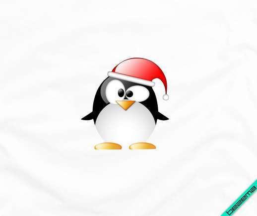 Декор на рюкзаки пингвин [Свой размер и материалы в ассортименте]