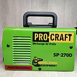 Інвертор зварювальний апарат Procraft SP-270D, фото 7