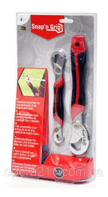 Многофункциональный универсальный гаечный ключ Quick Snap N Grip Набор гаечных ключей (AS SEEN ON TV)