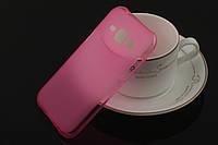 Чехол накладка для Samsung Galaxy J1 J100h розовый, фото 1