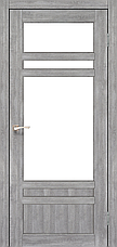 Двери KORFAD TV-04 Полотно+коробка+1 к-кт наличников, эко-шпон, фото 2