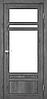 Двери KORFAD TV-04 Полотно+коробка+1 к-кт наличников, эко-шпон, фото 4