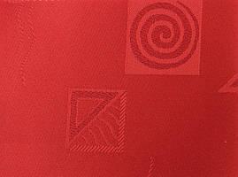 Готовые рулонные шторы Ткань Икеа Красный