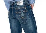 Мужские джинсы Franco Benussi 1102 синие, фото 5