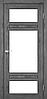 Двери KORFAD TV-05 Полотно+коробка+1 к-кт наличников, эко-шпон, фото 4