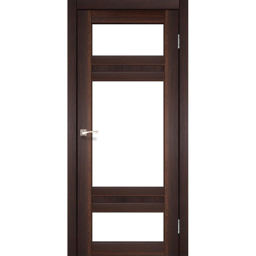 Двери KORFAD TV-05 Полотно+коробка+2 к-та наличников+добор 100мм, эко-шпон