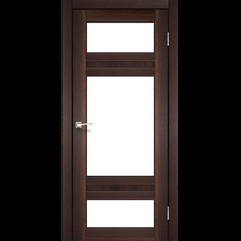 Двери KORFAD TV-05 Полотно+коробка+2 к-та наличников+добор 100мм, эко-шпон, фото 2