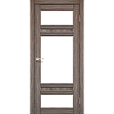 Двери KORFAD TV-05 Полотно+коробка+2 к-та наличников+добор 100мм, эко-шпон, фото 3