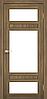 Двери KORFAD TV-05 Полотно+коробка+2 к-та наличников+добор 100мм, эко-шпон, фото 4