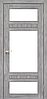 Двери KORFAD TV-05 Полотно+коробка+2 к-та наличников+добор 100мм, эко-шпон, фото 5
