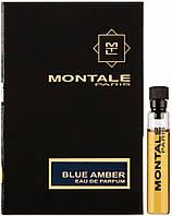 Парфюмированная вода Montale Blue Amber для мужчин и женщин (оригинал) - edp 2 ml vial