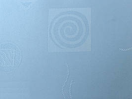 Готовые рулонные шторы Ткань Икеа Голубой