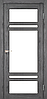 Двері KORFAD TV-06 Полотно+коробка+2 до-та лиштв+добір 100мм, еко-шпон, фото 5