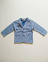 Стильний піджак для хлопчика 6-12 місяців (68-74см). Street Gang.