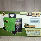 Инверторный сварочный аппарат Procraft SP-295D 1.6-5 электрод + Маска Хамелеон, фото 9