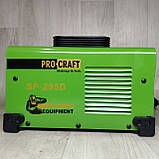Інверторний зварювальний апарат Procraft SP-295D 1.6-5 електрод + Маска Хамелеон, фото 7
