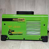 Инверторный сварочный аппарат Procraft SP-295D 1.6-5 электрод + Маска Хамелеон, фото 7