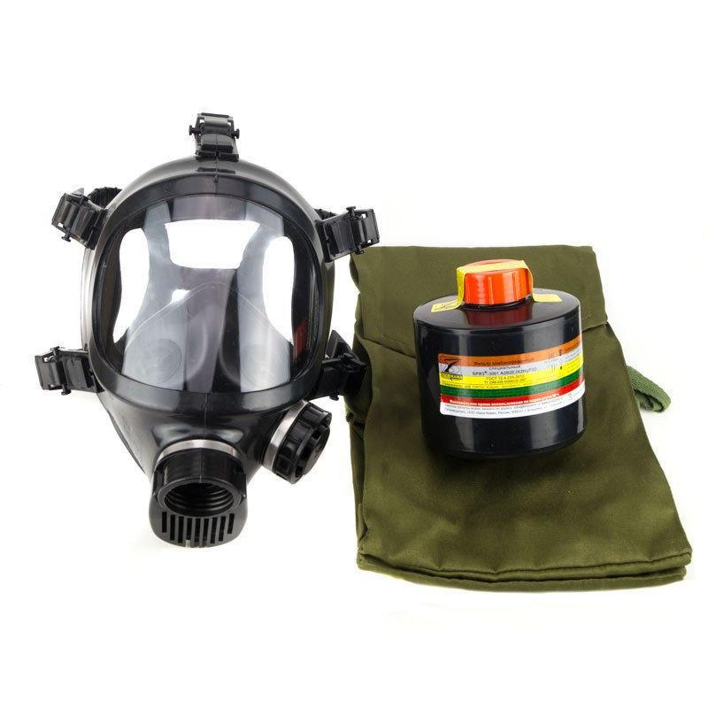 Противогаз Бриз-4301 (ППФ) A2B2E2K2HgP3D аммиак ртуть ППМ-88