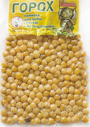Горох в вакумной упаковке ТМ Карпуша (клубника) 100g, фото 2