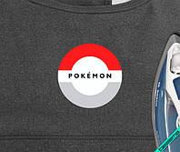 Термоаппликации на трехнитку Pokemon [Свой размер и материалы в ассортименте]