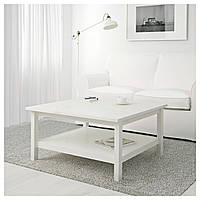 Стол IKEA HEMNES, белый окрашенный белый  (101.762.87), фото 1