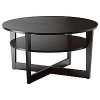 Стол IKEA VEJMON, черно-коричневый  (601.366.80) Гарантована наявність!!!, фото 1