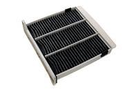 Фильтр салона (угольный) MITSUBISHI L200 (KA4T, KB4T) 2.5 TDI 01/2007-, WUNDER (Турция) QC0406CWU