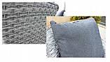 Стильний набір меблів в скандинавському стилі з штучного ротангу, фото 6