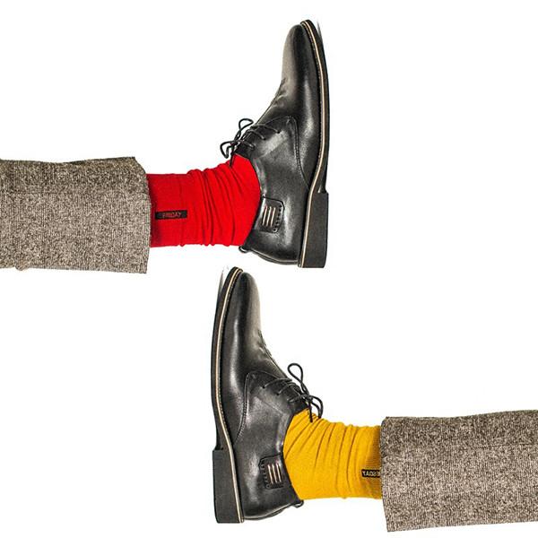 Mens Cotton Solid Colorful Голеностопный сустав Носки Повседневный дезодорант Регулируемый Носки - 1TopShop
