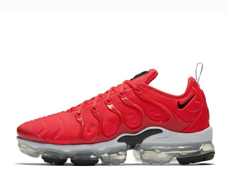 Nike Air Vapormax 2019 red black mens casual shoes #SE009739