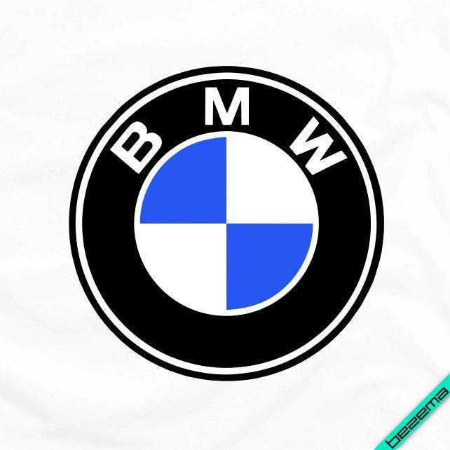 Термопереводки, латки на бавовну Логотип BMW [Свій розмір і матеріали в асортименті]