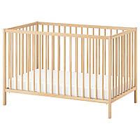 IKEA SNIGLAR Детская кровать, бук  (302.485.37)