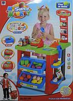 """Игровой набор """"Магазинчик"""" с тележкой и кассовым аппаратом. Игрушечный супермаркет My super market"""
