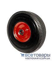 Колесо пенополиуретановое 4.10/3.50-4, диаметр 260 мм.