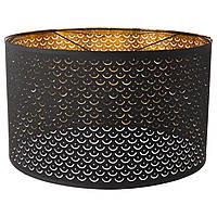 IKEA NYMO Абажур, черный, латунь цвет  (603.772.07)