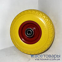 Колесо пенополиуретановое 3.00-4, диаметр 250 мм.