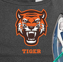 Рисунки на бейсболки Tiger [Свой размер и материалы в ассортименте]