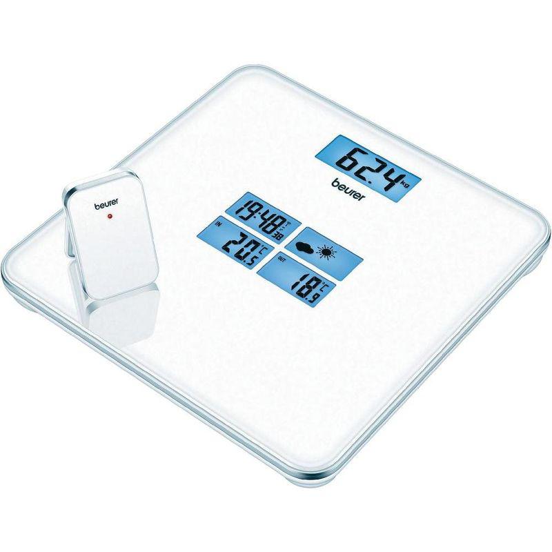 Весы стеклянные со встроенной метеостанцией Beurer GS 80