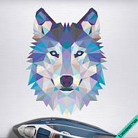 Переводки на бриджи термо Волк [Свой размер и материалы в ассортименте], фото 1