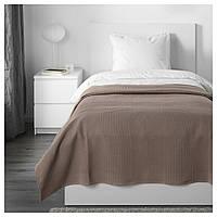 IKEA INDIRA Покривало, світло-коричневий (803.890.73)